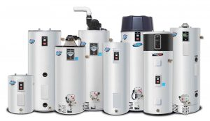plumbing appliances called water heaters