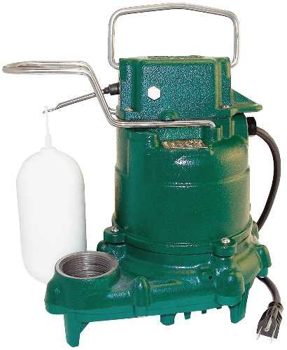 Zoeller Sump Pump from YS Greene Plumbing and Water Systems