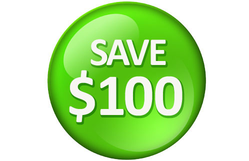 save $100 water softener